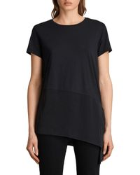 AllSaints Black Lauryn T-shirt