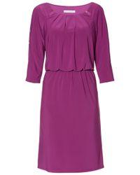 John Lewis Purple Gina Bacconi Gaia Keyhole Design Shift Dress