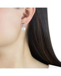 Georg Jensen - White Grape Pearl Drop Earrings - Lyst