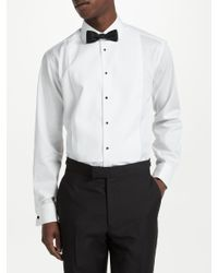 John Lewis White Marcella Point Collar Regular Fit Dress Shirt for men