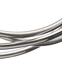 John Lewis - Metallic Sculpted Open Work Bangle - Lyst