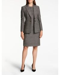 Bruce By Bruce Oldfield Multicolor Sparkle Tweed Dress
