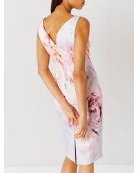 John Lewis Pink Coast Eyzizi Floral Shift Dress