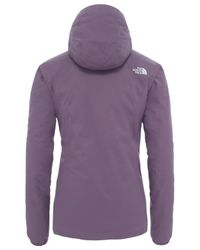 The North Face Purple Quest Women's Waterproof Insulated Jacket