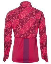 Asics Pink Lite-show Winter Running Jacket