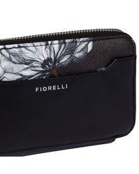 Fiorelli Black Eva Zip Around Purse
