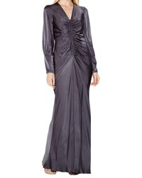 Ghost Gray Tory Dress Charcoal
