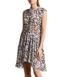 AllSaints Multicolor Victoria Magnolita Dress