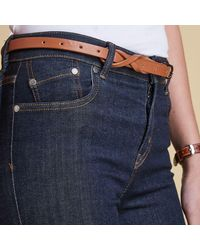 Barbour Blue Essential Slim Jeans