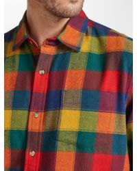 John Lewis - Multicolor Winter Bright Buffalo Check Shirt for Men - Lyst