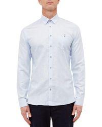 Ted Baker - Blue T For Tall Laava Long Sleeve Shirt for Men - Lyst