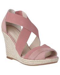 L.K.Bennett Multicolor L.k. Bennett Alycia Wedge Heeled Sandals