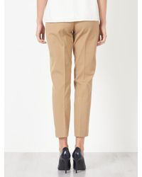 John Lewis Natural Dionne Trousers