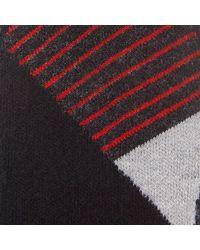 Smartwool Gray Phd Ski Men's Light Pattern Socks for men