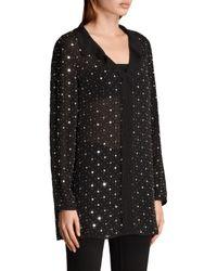 AllSaints Black Shalien Star Shirt