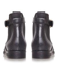 Carvela Kurt Geiger Black Slow Leather Chelsea Boots