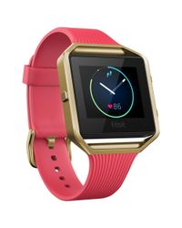 Fitbit - Multicolor Blaze Gunmetal Wireless Activity And Sleep Tracking Smart Fitness Watch - Lyst