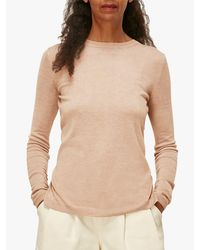 Whistles Natural Annie Sparkle Knit