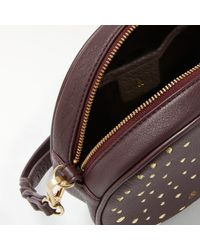 bell&fox Multicolor Pebble Leather Embroidered Canteen Bag