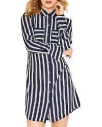 Oasis Blue Brushstroke Dress