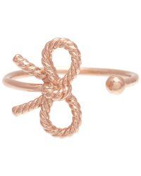 Olivia Burton Multicolor Vintage Bow Adjustable Ring