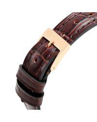 Frederique Constant Metallic Fc-235m1s5 Women's Slimline Leather Strap Watch
