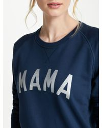 Selfish Mother Blue Mama Crew Neck Sweatshirt