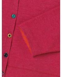 White Stuff Pink Printing Press Cotton Cardi