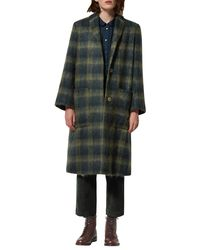 Toast - Green Brushed Mohair Coat - Lyst