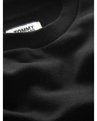 Tommy Hilfiger Black Tommy Jeans Classic Crew Neck Sweatshirt for men