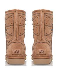Ugg Black Fiore Deco Stud Boots
