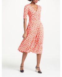 decf5230c4 Boden Kassidy Jersey Dress in Red - Lyst