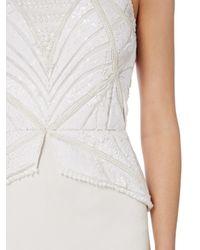 Raishma - White Peplum Gown - Lyst