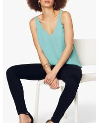 Oasis Blue Formal Vest Top