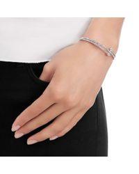 Swarovski Metallic Twisty Crystal Cuff