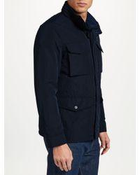 J.Lindeberg Blue Farrn Field Jacket for men