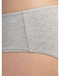 John Lewis Gray 5 Pack Modal Bikini Briefs