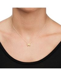 Dogeared - Metallic 14ct Gold Plated Guardian Angel Wings Reminder Necklace - Lyst
