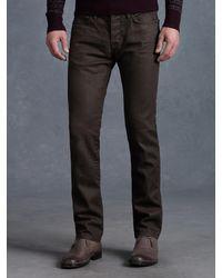 John Varvatos Brown Bowery Jean for men