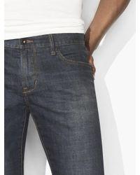 John Varvatos Blue Vintage Washed Bowery Jean for men