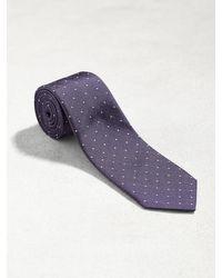 John Varvatos - Purple Classic Micro Dot Tie for Men - Lyst
