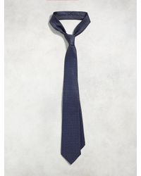 John Varvatos - Blue Classic Abstract Dot Tie for Men - Lyst