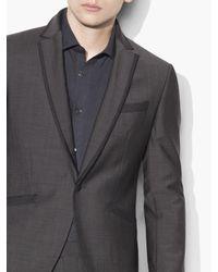 John Varvatos Gray Austin Tuxedo for men