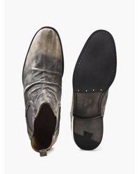 John Varvatos Multicolor Fleetwood Suede Chelsea Boot for men