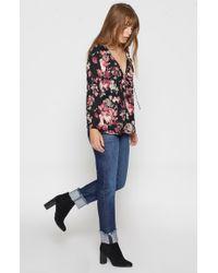 Joie - Multicolor Nadege Floral-print Silk Top - Lyst