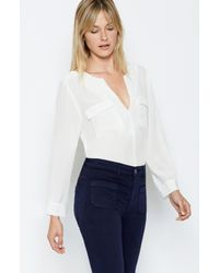 Joie | White Marlo Top | Lyst