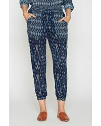 Joie Blue Xolani Printed Pant