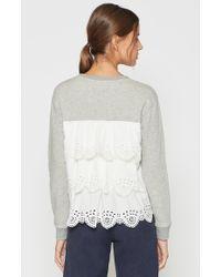 Joie Gray Devra Sweatshirt