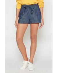 Joie - Blue Pike Denim Shorts - Lyst