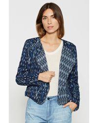 Joie | Blue Akinyi Printed Jacket | Lyst